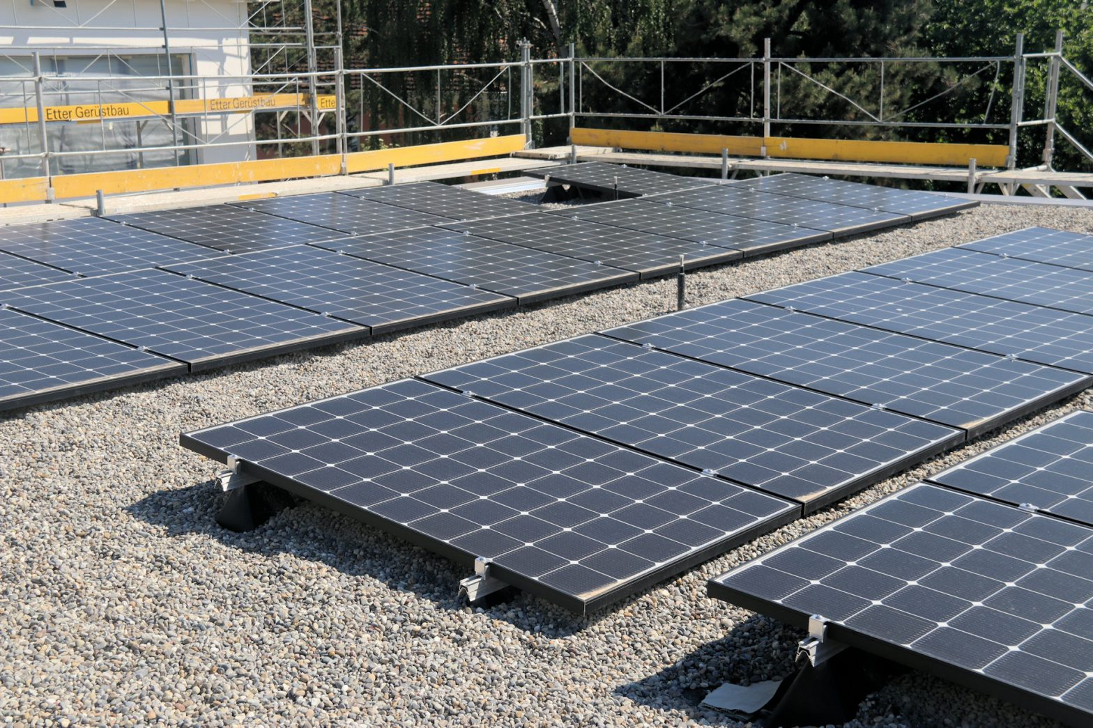 Nachhaltigkeit dank Solarenergie