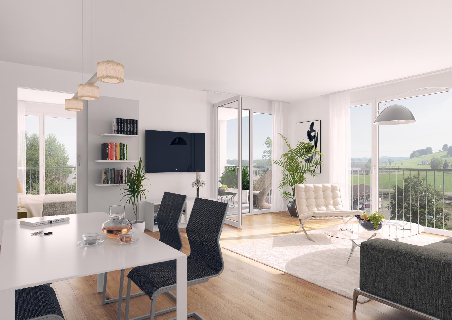 Wohnen im Alter in Eschlikon (Wohnung A14, A24)